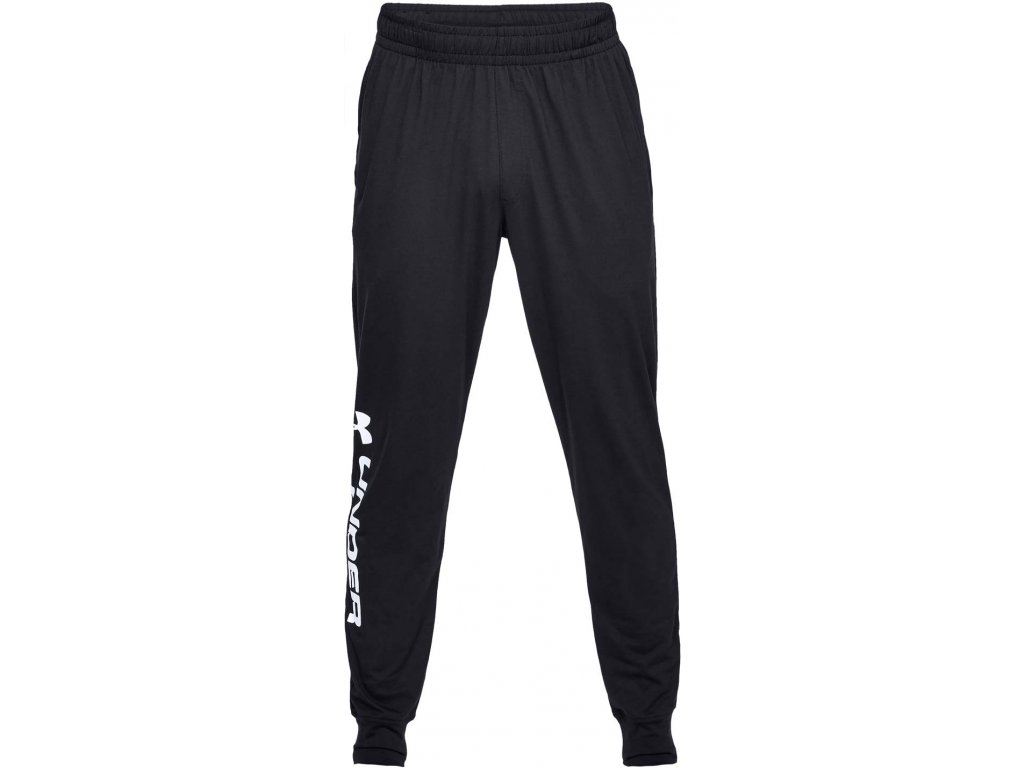 3d1047b30c9e under armour 1329298 001 sportstyle cotton graphic jogger blk 0