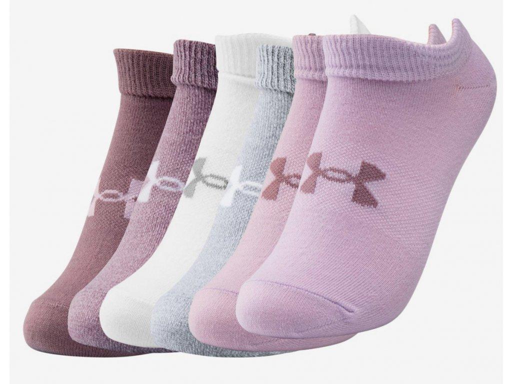 Dámské ponožky Under Armour Essential NoShow (6 párů)