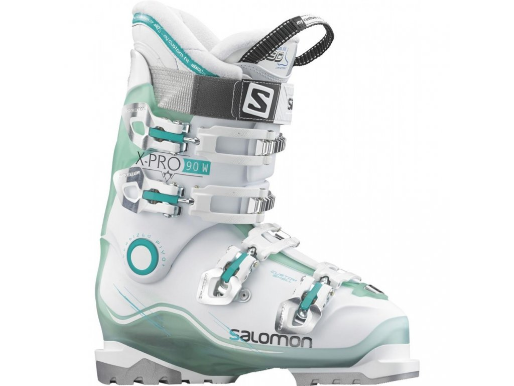 Salomon X PRO 90 W Light Green TranslucentWhite 378161