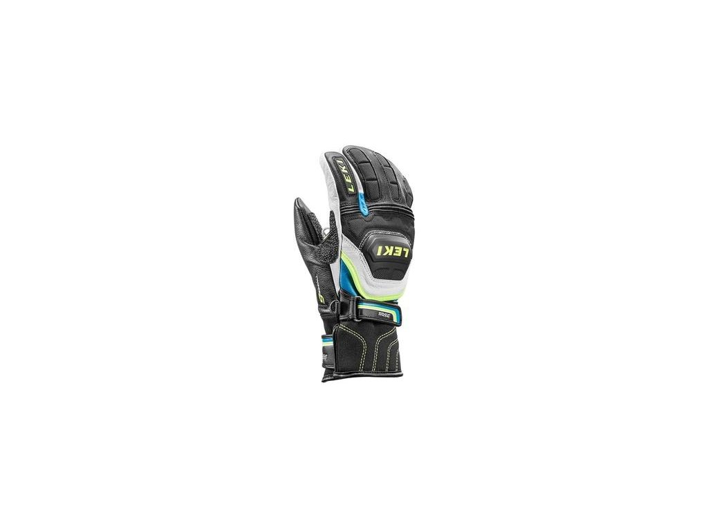 bb5ade76d7d Leki World Cup Race Flex S Junior Lobster Mitten Blue