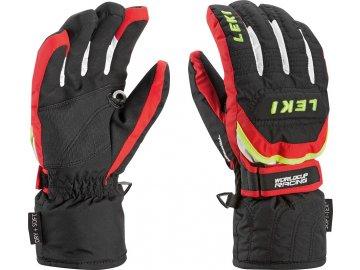 a231db44eae leki worldcup s junior ski gloves 1 1. Leki Worldcup S Junior – black red  white yellow ...