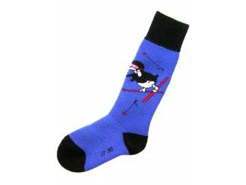 Rohner Pinguin blue (Ponožky 27-30)