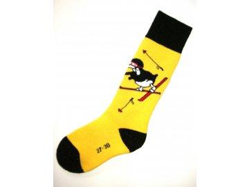 Rohner Pinguin yellow (Ponožky 35-38)