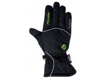 polednik frost cerna unisex lyzarske rukavice