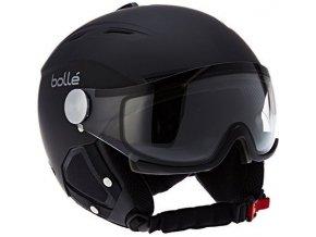 Bolle Backline Visor soft Black / Silver Modulator Grey visor 16/17 (Velikost 59-61 cm)